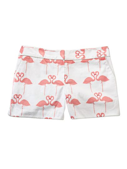Give them to me NOW!!! Elizabeth McKay Flamingo Shorts