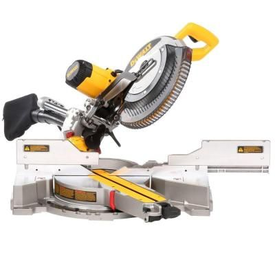 DEWALT 15 Amp 12 in. Double Bevel Sliding Compound Miter Saw-DWS780 - The Home Depot