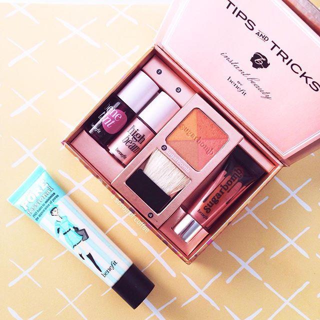 Daily essentials ➕ ascoopofcoffee.com ➕ #ascoopofcoffee #blogger #lifestyle #lifestyleblog #greekblog #lifestyleblogger #ABMlifeiscolorful #ABMlifeissweet #thatsdarling #thehappynow #pursuepretty #flashesofdelight #petitejoys #DScolor #greekblogger #acolorstory #makeup #hudabeauty #benefit #benefitcosmetics #benetint #highbeam #sugarbomb #porefessional #bbloggers #greekblogger #beauty #benefitgreece #sephora #sephorahaul