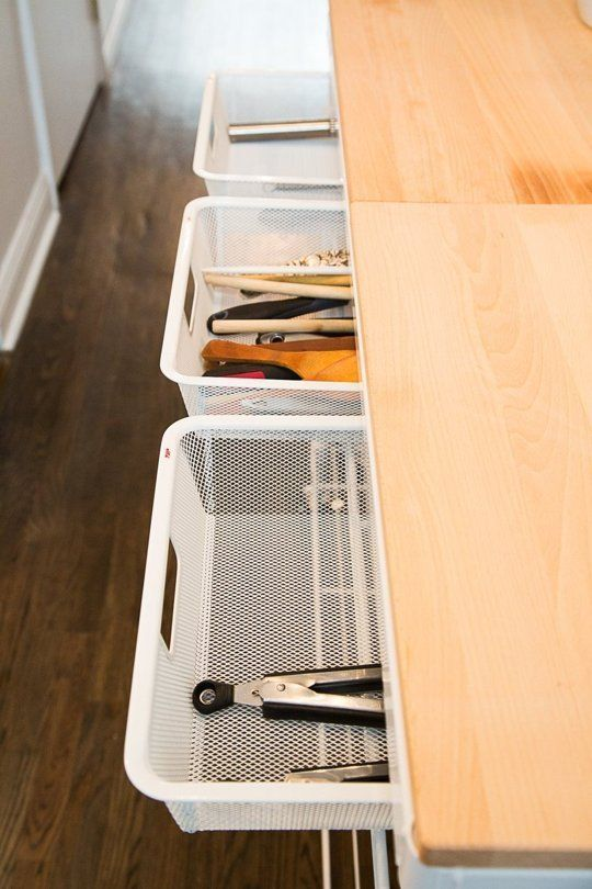 A Great Customizable Kitchen Cart (With Drawers!) for a Small Kitchen — Kitchen Tour