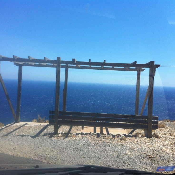 View to the Libyan sea (near Jyrokampos beach)