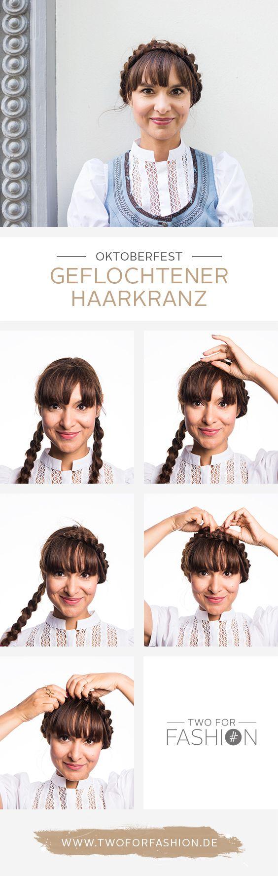 #haarkranz #flechten #flechtfrisur #oktoberfest #frisuren #wiesn #haare Gerade für lange Haare ist diese wunderschöne, traditionelle Flechtfrisur ideal. Sie ist total einfach nachzustylen (Anleitung auf dem Blog) und sieht unglaublich authentisch bayrisch-ländlich aus! Diese Frisur ist ein echter Klassiker aber nichtsdestotrotz auch ein richtiger Eyecatcher zum Dirndl oder Lederhosen.