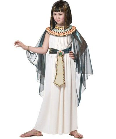 egyptian princess girls costume kids - Egyptian Halloween Costumes For Kids