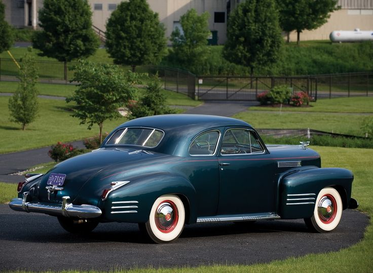 1941 Cadillac model 62. 2-door coupe, V-8.