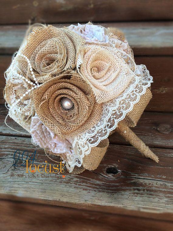 Pizzo della tela da imballaggio Bouquet, Bouquet da sposa, Bouquet da sposa di tela da imballaggio, pizzo Bouquet, tela di ragno e pizzo, tela, sposa, Bouquet da sposa, lanciare il Bouquet