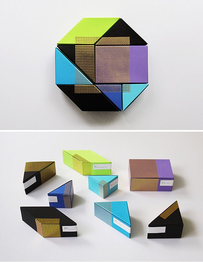 tea packaging by Ken Lo