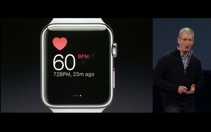 Novo Apple Watch mede até batimentos cardíacos (Foto: reprodução)
