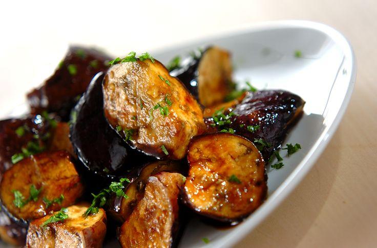 レンジナスのバルサミコ酢和えのレシピ・作り方 - 簡単プロの料理レシピ | E・レシピ