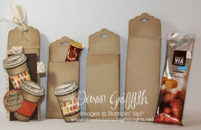 Scallop Tag coffee packet holder video