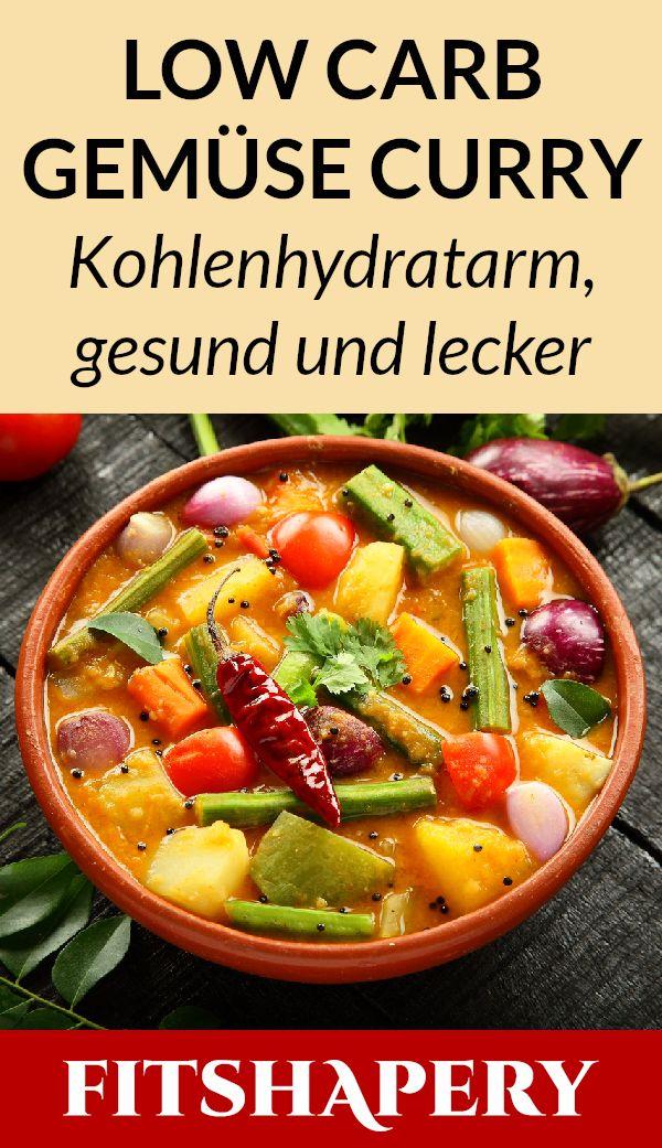 Low Carb Gemüse Curry – leckeres Rezept zum Abnehmen