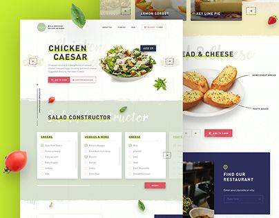 """Check out new work on my @Behance portfolio: """"The Salad Bar"""" http://be.net/gallery/51657415/The-Salad-Bar"""