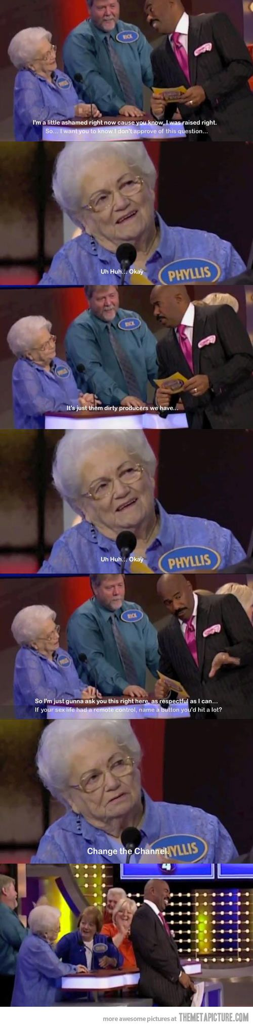 Old lady keepin it real! Amazing haha