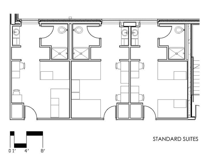 University Of Tennessee: Fred D. Brown Jr. Hall Standard Suite Floorplan Part 65