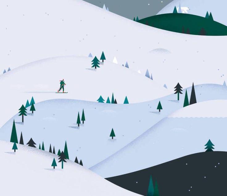 December Illustration