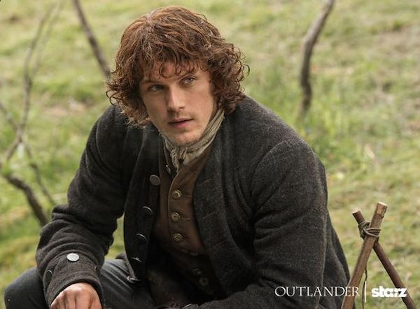 """Outlander"" actor Sam Heughan still can't believe he's the star of a hit TV show."