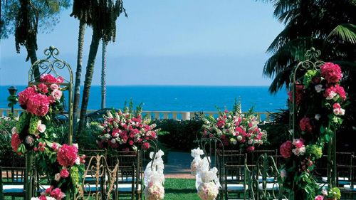 Four Seasons Santa Barbara Wedding Venue #ceremony #officiant #sbweddingofficiants
