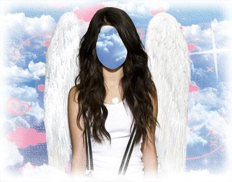 Костюмы для фотомонтажа для девушек ангел