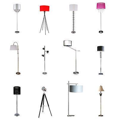 LuxproR Moderne Stehleuchte Stehlampe Lampe Wohnzimmer Leuchte Standleuchte