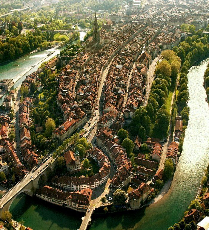 Bern, Switzerland http://www.etips.com/en/more-destinations/bern-guide.html eurail goes here