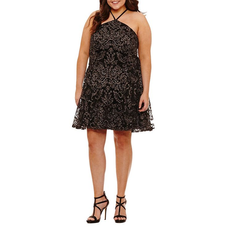 Speechless Sleeveless Party Dress Juniors Plus Fashion