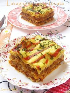 Lasagna cu carne tocata ~ Culorile din farfurie