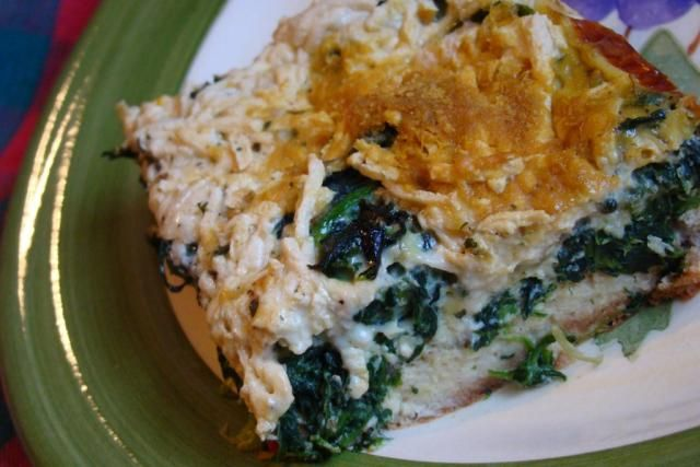 #GlutenFree Greek Breakfast Casserole: Spinach Breakfast, Mondays, Casserole Food, Casseroles, Breakfast Casserole W640, Food Recipe, Meatless Monday, Tomatoes, Tomato Breakfast