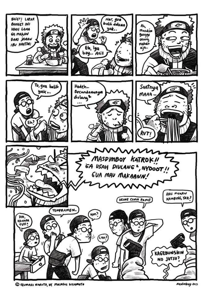 MASDIMBOY vs Naruto