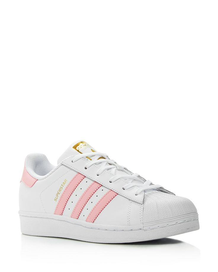 Adidas Women\u0027s Superstar Foundation Lace Up Sneakers