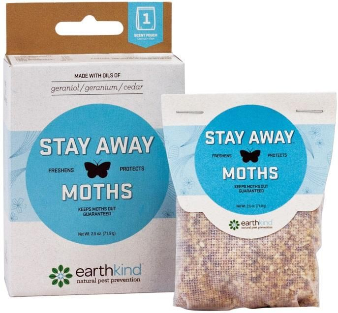 Earthkind SA-M SF8 Stay Away Moths Repellent, 2.5 Oz
