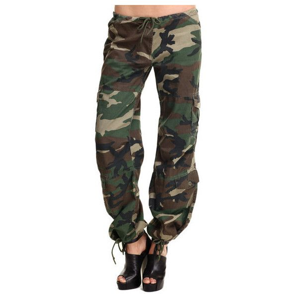 rothco womens camo vintage paratrooper fatigue pants by Rothco ❤ liked on Polyvore featuring pants, camoflage pants, vintage trousers, black camouflage pants, camouflage trousers and black camo pants