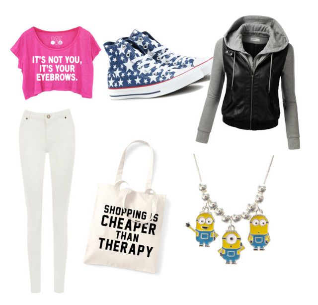 """""""Bîtchin bîtch"""" by tohot4u on Polyvore featuring Therapy, Warehouse, Converse and J.TOMSON"""