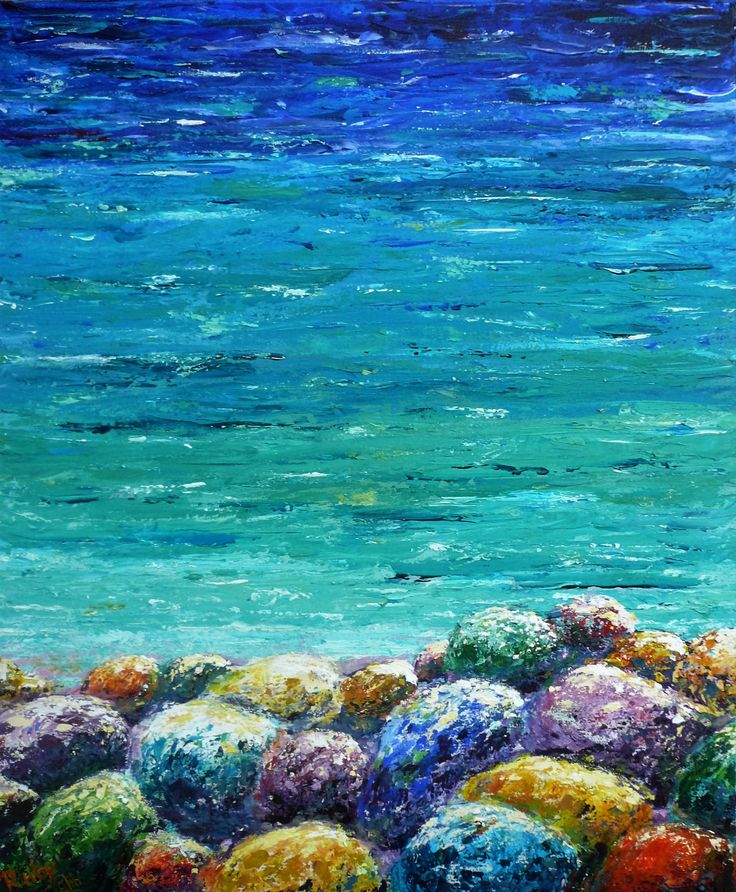 By the sea side at Poros Kefalonia, Rubby Van Assendelft