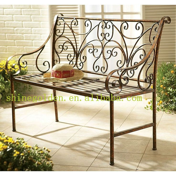 Antique Wrought Iron Benchs   Buy Benchs,Garden Bench,Antique Wrought Iron  Benches Product On Alibaba.com