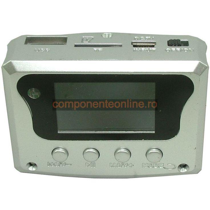 Modul decodor MP3, citire USB/ SD, cu telecomanda - 130304