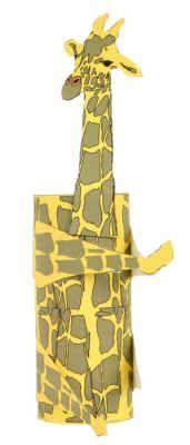 Giraffe craft for pencil can education pinterest
