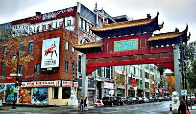 Chinatown, Montréal, Québec.