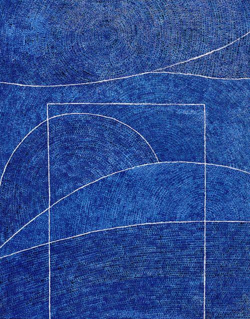 김환기 작 10만개의 점 263×205(1973)