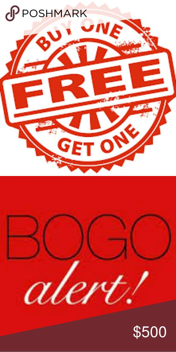 BOGO SALE!! BOGO SALE Check out my closet! Anything marked with 🌻BOGO🌻 is buy one get one free!!   Bundle! Check out my closet! PLEASE READ DESCRIPTION, ANY QUESTIONS PLEASE ASK. -DON'T ASK ME WHAT MY LOWEST PRICE IS, THIS IS WHAT THE OFFER BUTTON IS FOR- -NO HOLDS- -NO TRADES- Other