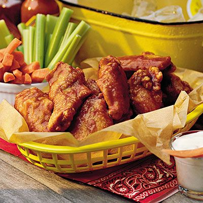 No tailgate is complete without wings! Try out wings coated in a Sweet-and-Spicy Chipotle sauce.