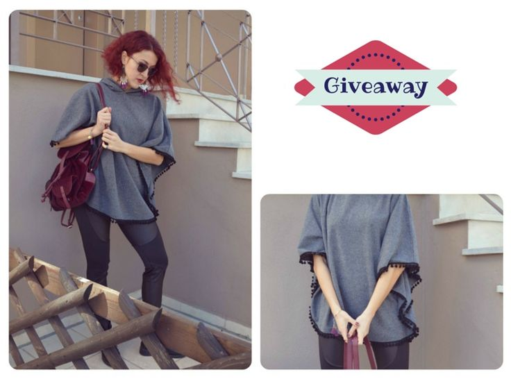 #giveaway #competition #greece #girly #contest #gift #διαγωνισμός #δώρο #poncho