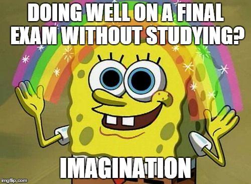 Imagination Spongebob