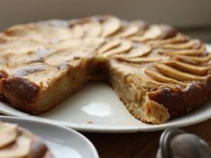 Cake léger, pommes & citron • Hellocoton.fr