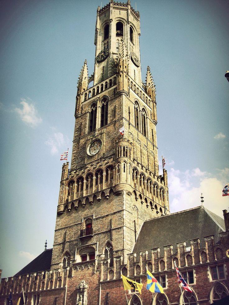 Torre Campanario de Brujas Belfort (Brugge - Belgium)