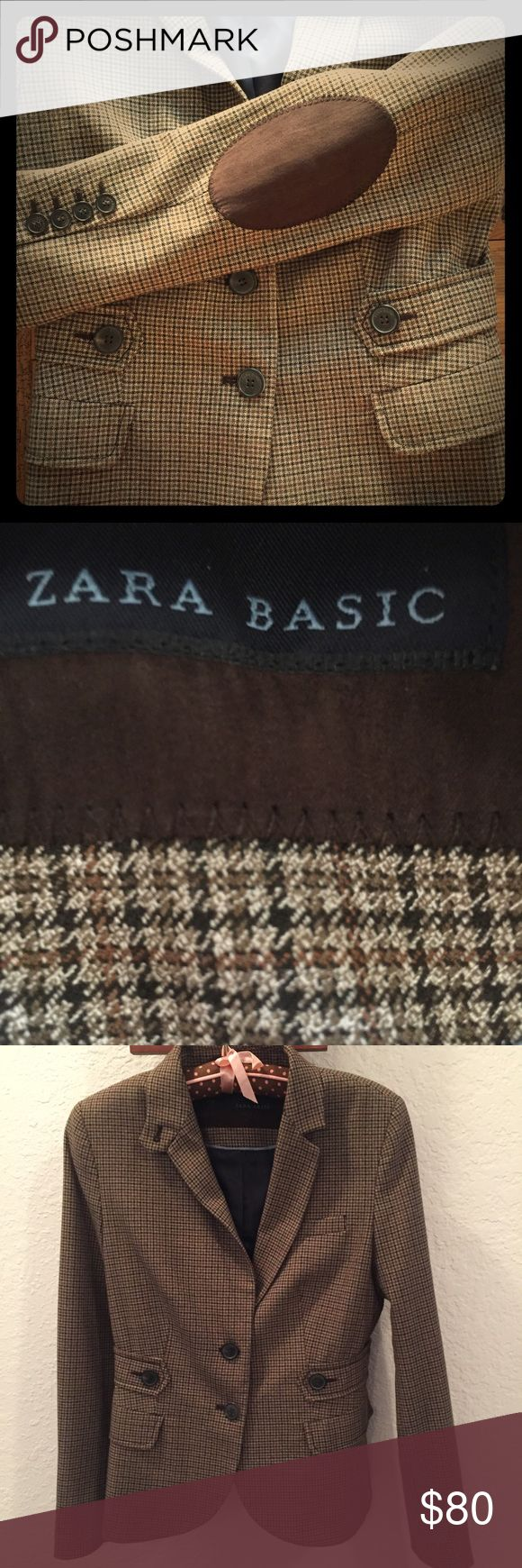 ZARA jacket Never worn or worn once. Just been hanging in my closet. Size S Zara Jackets & Coats Blazers