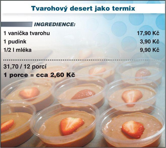 Levně a chutně s Ladislavem Hruškou - Tvarohový desert jako termix