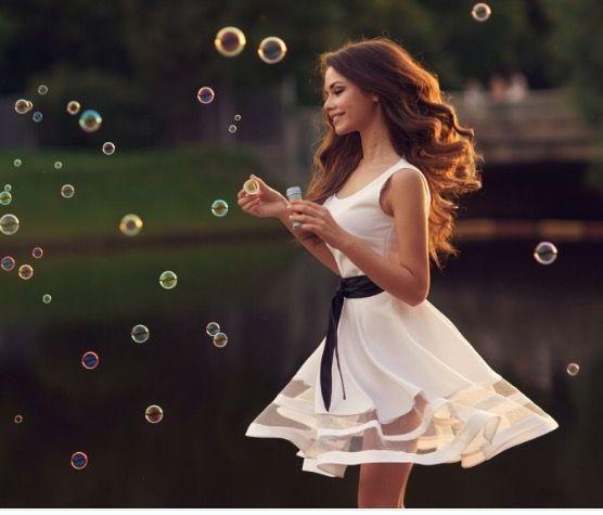 Bubble photo shoot!