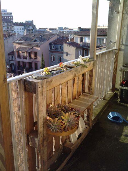 17 meilleures images propos de balcon sur pinterest jardins bo tes de th et bo tes caf. Black Bedroom Furniture Sets. Home Design Ideas