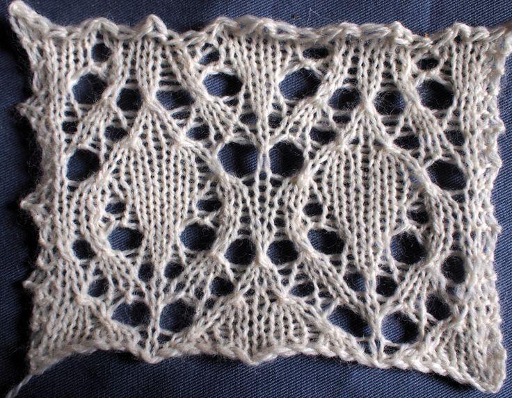 Beech Leaf Knitting Pattern : 1000+ ideas about Lace Knitting Stitches on Pinterest ...