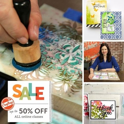 Save up to 50% off all classes (Gorgeous Greeting Cards Stamping & Beyond) at Craftsy Labor Day weekend! http://nicholmagouirk.typepad.com/things_that_really_matter/2015/09/weekend-shopping-links-giveaway-reminders-giveaway-winner.html