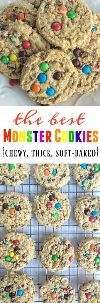 The Best Monster Cookies - Together as Family